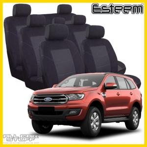ford everest seat covers esteem black