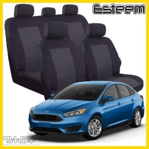 ford focus seat covers esteem black