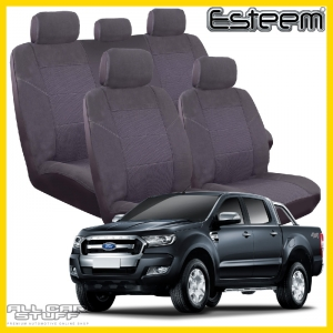 Ford Ranger Seat Covers PX2 Grey Esteem