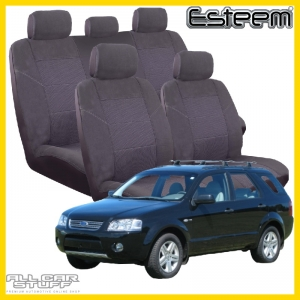 Ford Territory 5 Seat Covers Esteem Grey
