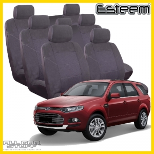 Ford Territory 7 Seat Covers Grey Esteem