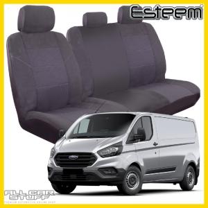 Ford Transit Seat Covers Grey Esteem