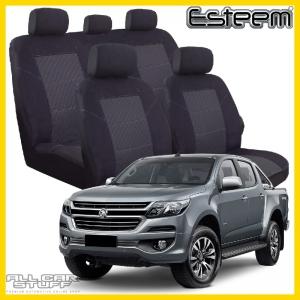 Holden Colorado Seat Covers Black Esteem