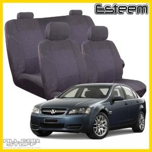 Holden Commodore Seat Covers VE Sedan Grey Esteem