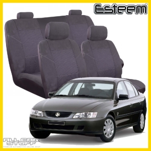 Holden Commodore Seat Covers VT/VX/VY/VZ Grey Esteem