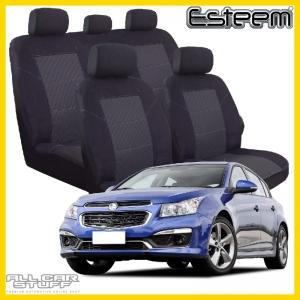 Holden Cruze Seat Covers Black Esteem