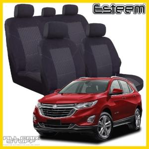 Holden Equinox Seat Covers Black Esteem