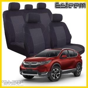 Honda CR-V Seat Covers RW Black Esteem