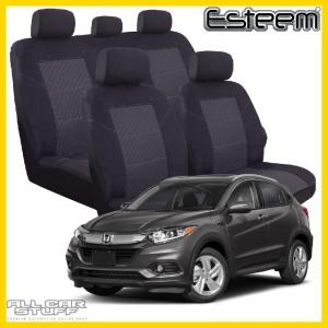 Honda HR-V Seat Covers Esteem Black